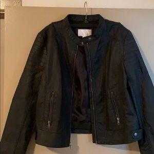 Target Xhilaration- fake leather jacket